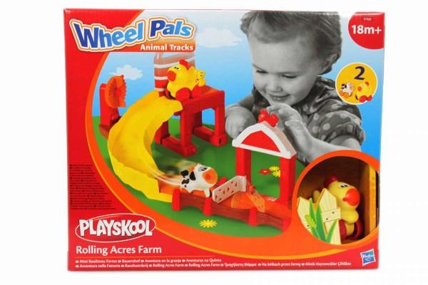 Spielset Bauernhof Playskool Wheel Pals Minis ab 18 Monate HASBRO 27422148