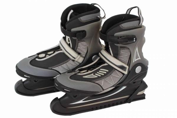 Schlittschuh hochwertig Gr. 40 Schlittschuhe mit Kufenschützer Eislaufen
