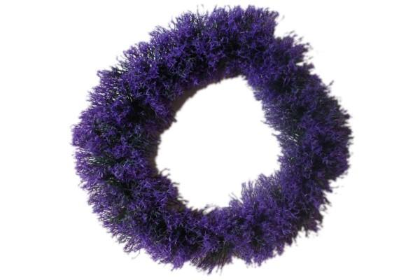 Kranz Lavendel lila Türkranz Ø 40 cm Kunststoff künstliche Pflanze Landhaus-Stil