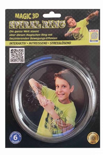 Magic 3D Spiral Ring gleitet magisch über Arme/Hände Ø 13 cm stresslösend JOKA
