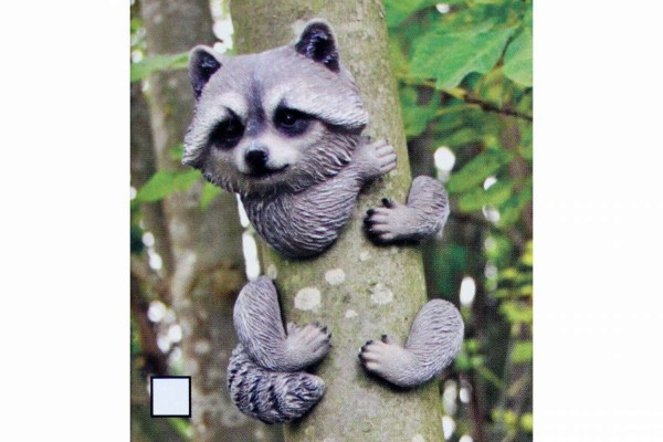 Baumtier kletternd Waschbär/Eichhörnchen/Katze/Koala Deko für Baum aus Polyresin