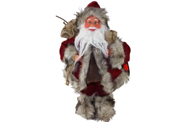 Santa Claus 32 cm Weihnachtsmann Schaufenster Deko