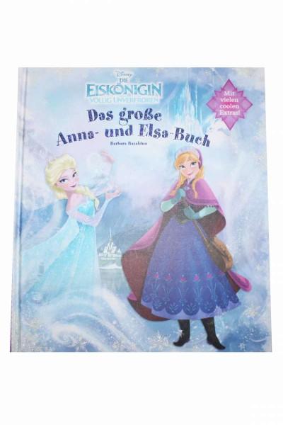 Die Eiskönigin: Das große Anna und Elsa-Buch 48 Seiten mit vielen Extras DISNEY