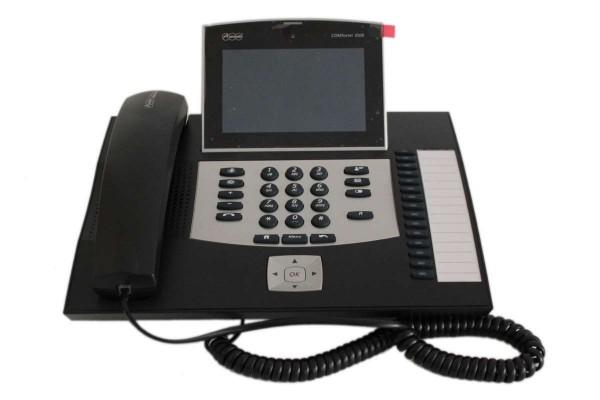 Auerswald COMfortel 3500 VoIP-Systemtelefon und Standard-VoIP-Telefon schwarz