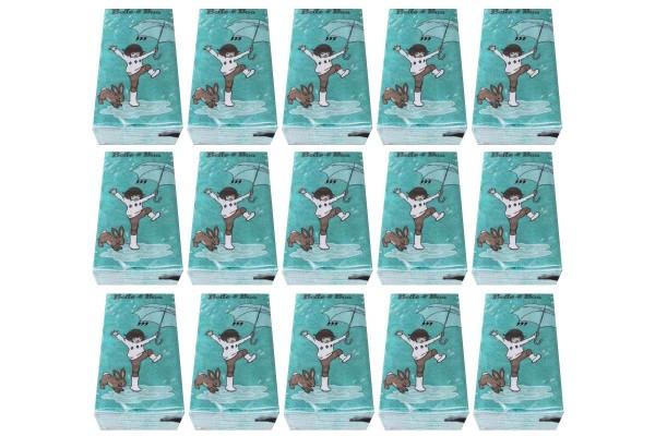 15 x Papier-Taschentücher Belle & Boo 15 Packungen Kinder-Motiv Einweg