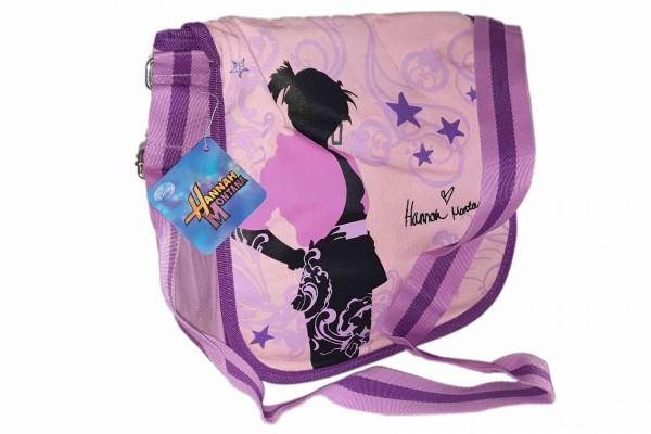 Umhängetasche Handtasche Tasche Mädchen Disney Hannah Montana 27x25x9cm Bamwolle