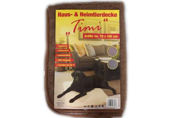 Haustierdecke Timi Heimtierdecke 70x100cm Hundedecke Decke für Hund