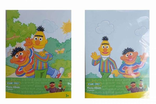Fotoalbum/Einsteckalbum Sesamstraße Ernie und Bert für 32 Fotos 10x15