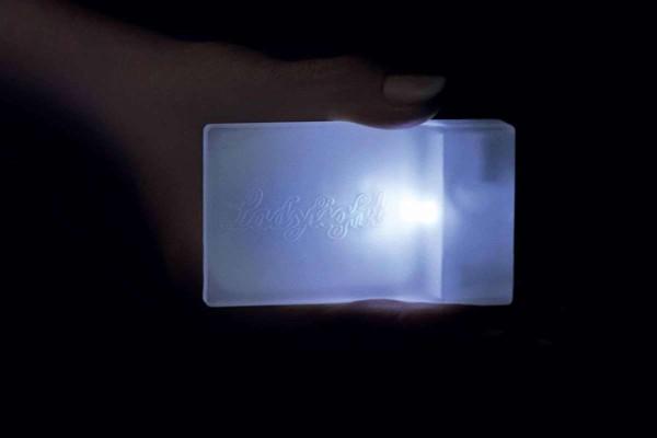 Handtaschenlicht Ladylight Taschenlicht Beleuchtung Handtasche Lady Light Lampe Notlicht/Schrankbele