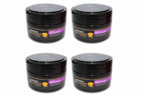 4 x Pantene Expert Collection Advanced Hair Strength Kur Maske Pflegekur 4x200 ml