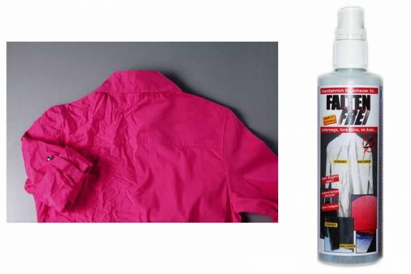 Falten-Frei-Spray 125 ml entfernt Falten aus allen Textilien Faltenfreispray