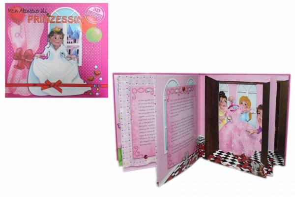 3D-Bilderbuch Mein Abenteuer als Prinzessin Aufklappbuch Buch Brante/Puntmann 164285