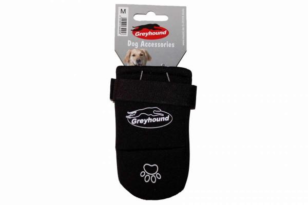Pfotenschutz Neopren Gr. M oder L Hundeschuh Verletzung schwarz MUCKI Greyhound