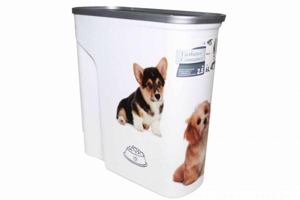 Tier-Futter-Container 6 Liter/2,5 kg Trockenfutter Hunde Tierfutter-Box