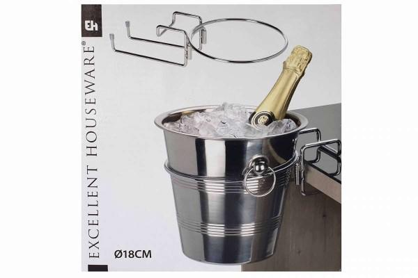Tischhalterung für Sektkühler Ø 18 cm Halter für Eiskübel Eimer Excelent Houseware