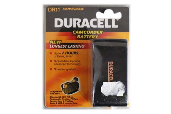 Duracell DR11 NiMH Camcorder Batterie Ersatz-Akku