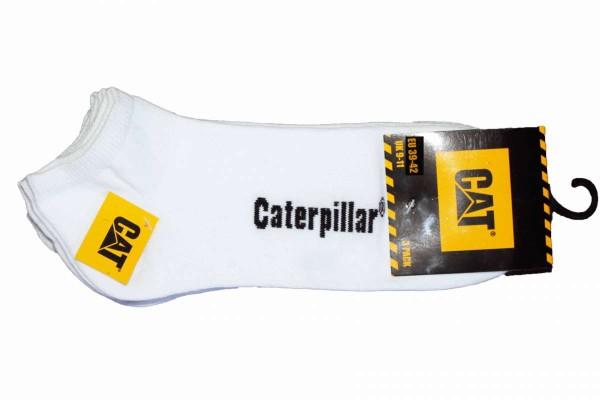 3er Pack Herren Sneakersocken Gr. 39-42/43-46 Strümpfe Kurzsocken CAT CATERPILLAR Sneaker-Socken