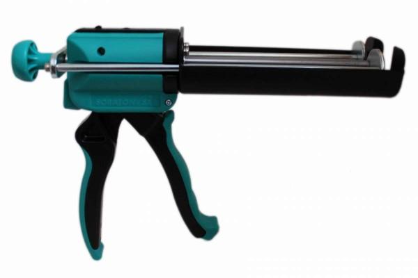Doppel-Kartuschen-Pistole EconoMax HED V1010 bis 220ml Kartusche 1:1 SORATON Auspressgerät
