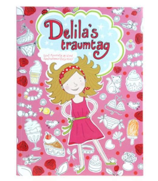 """""""Delias Traumtag"""" Malbuch Lesebuch Beschäftigungsbuch für Prinzessinnen 48 Seiten"""
