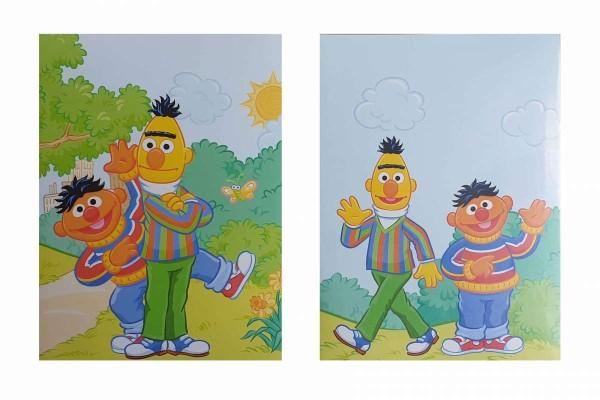 24 x Fotoalbum/Einsteckalbum Sesamstraße Ernie und Bert 32 Fotos 10x15 24 Stück