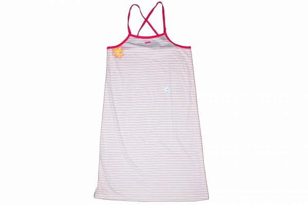 Nachthemd rosa gestreift ohne Ärmel Nachtwäsche kurze Arme MEXX 72/176/3 RAVIE