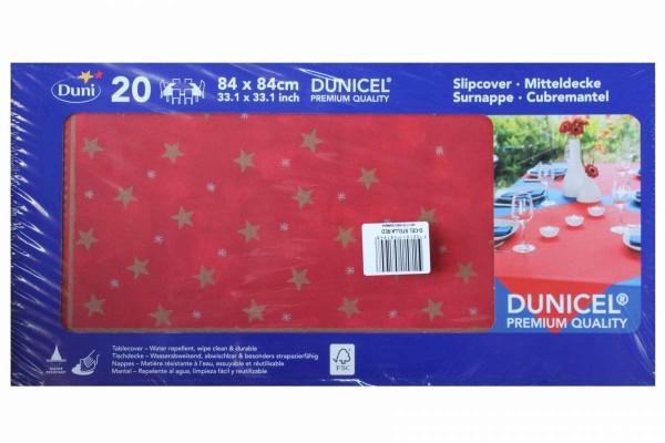 20er Pack Mitteldecken Tischdecken 84x84 cm Dunicel/Dunisilk Weihnachten DUNI