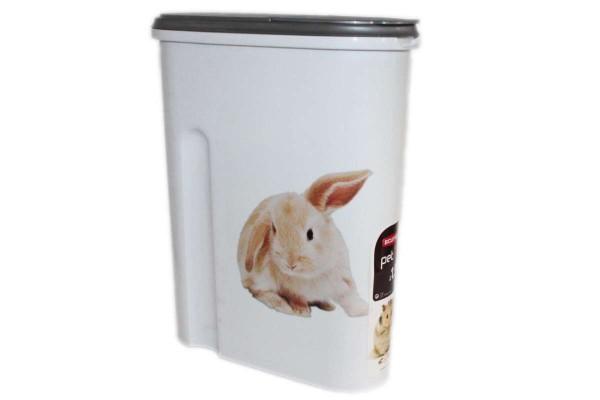 Tier-Futter-Container 4,5 Liter/1,5 kg Trockenfutter Nager CURVER petlife 195995