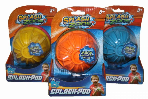 Splash Zone Splash-Pod Wasserspielzeug Ball beluga 78202