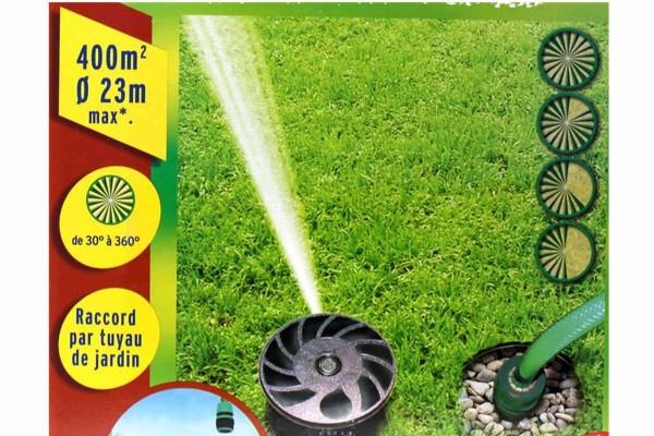CASTO unterirdisches Bewässerungsset für bis zu 400 qm versenkbar Rasensprenger