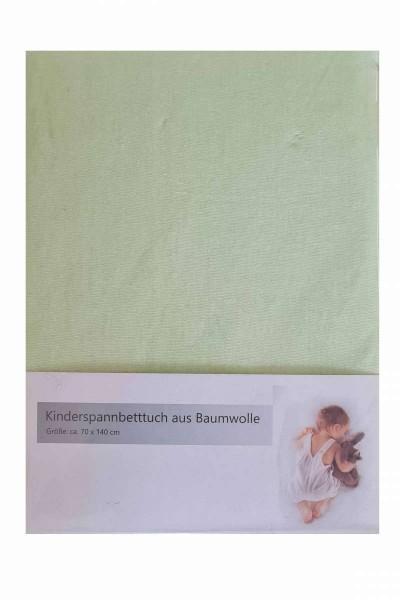 Baby-Spannbettlaken 70x140 Bettlaken Baumwolle verschiedene Farben