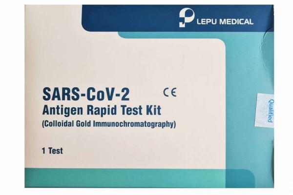 SARS-CoV-2 ANTIGEN RAPID TEST KIT Corona Schnelltest 1er