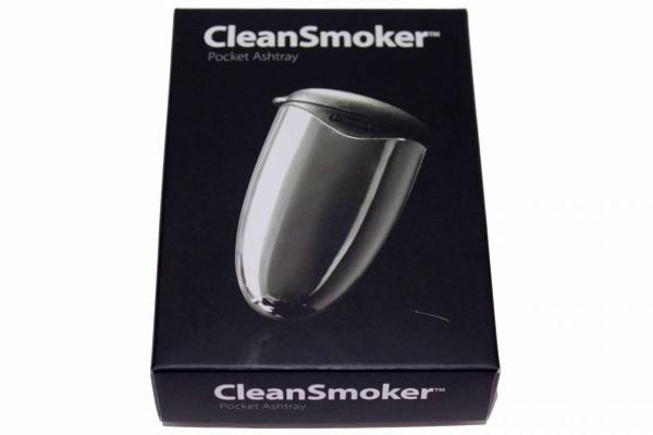 10 x CleanSmoker chrome Taschenaschenbecher Chromeoptik Aschenbecher f.Tasche