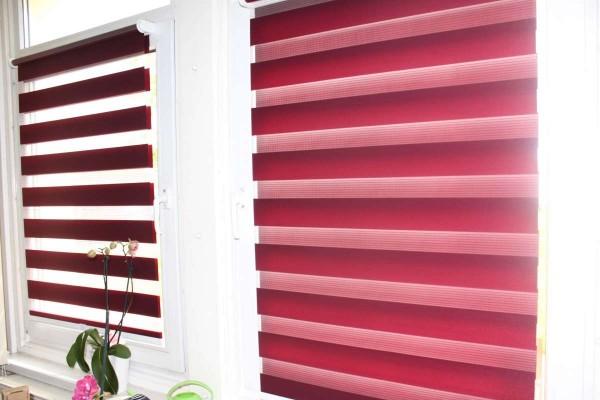 2er Clever Fix Day&Night Klemmrollo Doppelrollo Duorollo Fenster-Rollo 80x150 bzw. 76x150cm