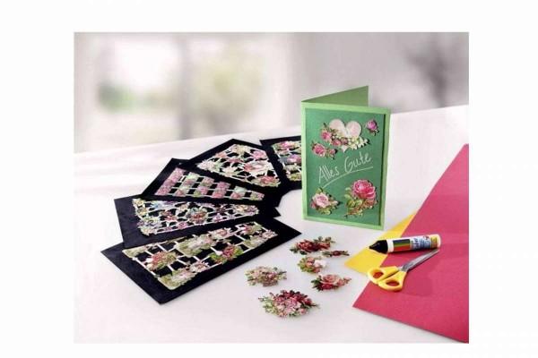 Glanzbilder Nostalgie 69tlg. Elfen, Feen, Blüten Stammbuchbilder Poesie WELTBILD 5193347
