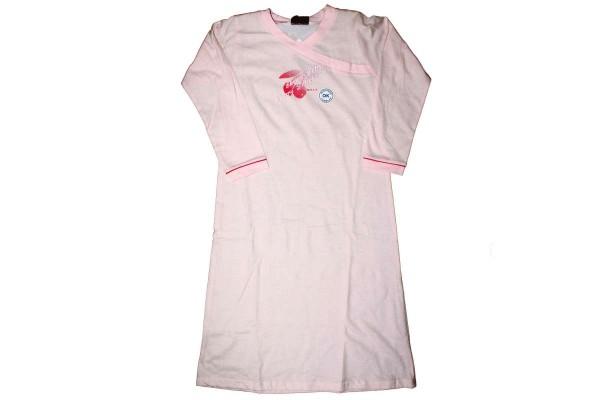 Nachthemd rosa/weiß langärmlig Nachtwäsche lange Arme MEXX 72/223/2 SWEET