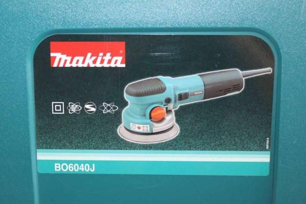 MAKITA Exzenterschleifer Rotationsschleifer 150 mm 750W BO6040J